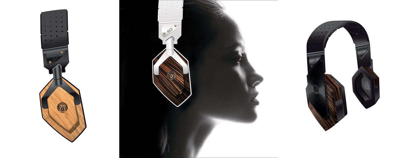 EQ- Wooden Headphones