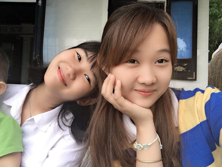 Di and Thuong, two sisters.