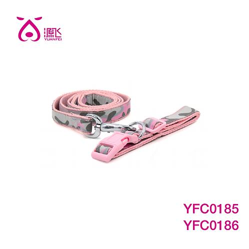 Pink Camo Collar&Leash