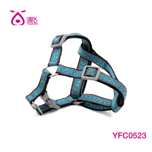 Colorful Yarns Reflective Harness Blue