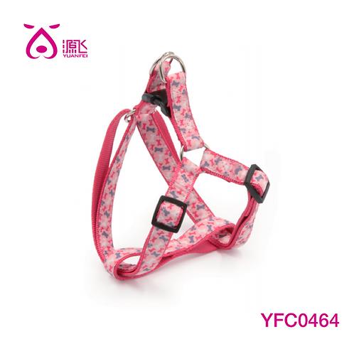 Pink Grosgrain Overlay Harness