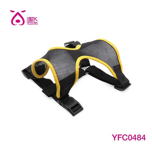 Mesh Body Harness Black/Yellow