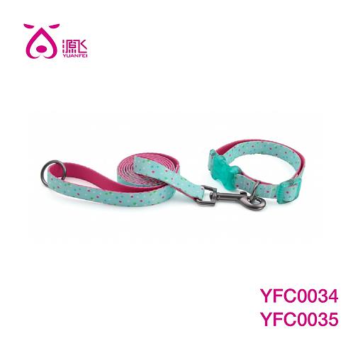 Confetti Crush Double Dye Sub Collar&Leash