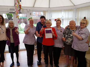 """Celebrating our  """"Good"""" CQC Rating for Alexandra House"""