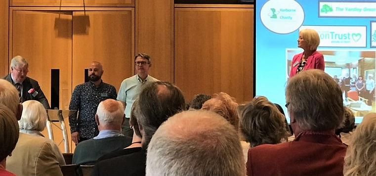 David Healey Award Winning at Almshouses