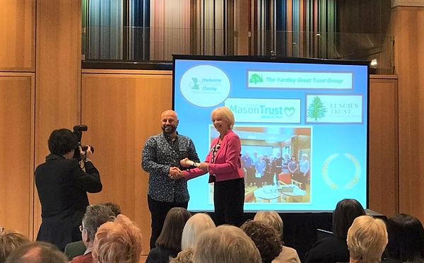 David Healey  x2 Award Winning at Almsho