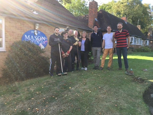 Mason cottages volunteering day.jpg