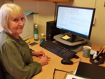 Alex House Sue Jamesat desk 08-04-2019.j