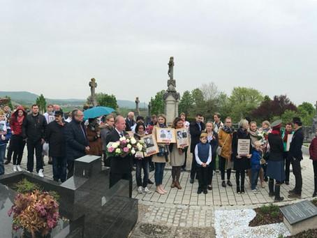 Международная акция #СадМира в Люксембурге
