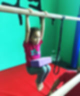 Recreational gymnastics class