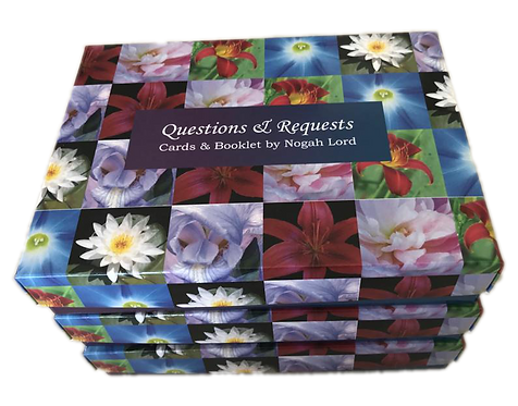 Questions & Requests 72 Cards and booklet