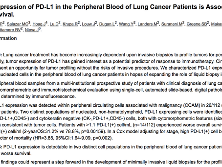 New Publication and the Dream of Predicting Immunotherapy Response in Lung Cancer