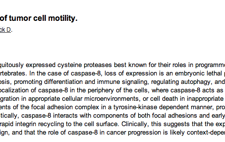 New Publication, Dissertation Approved, and Histology