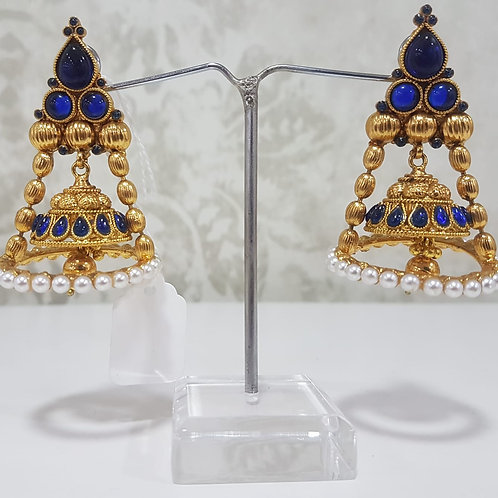 Gold Plated Pearl Earrings 0016