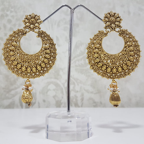 Gold Plated Earrings 0080