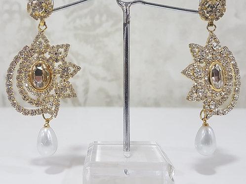 Gold & Silver Earrings 0010