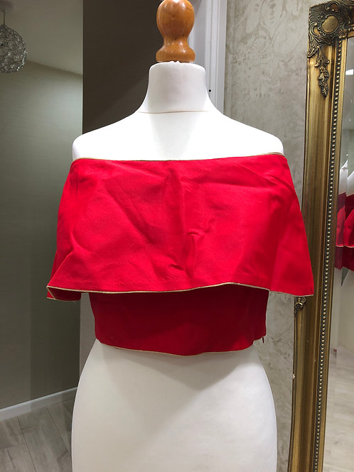 Deep Coral Blouse