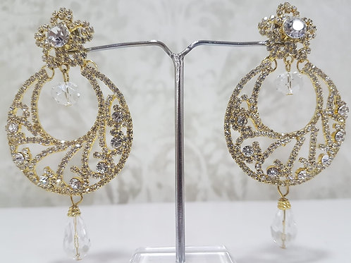 Gold & Silver Dimontee Earrings 051