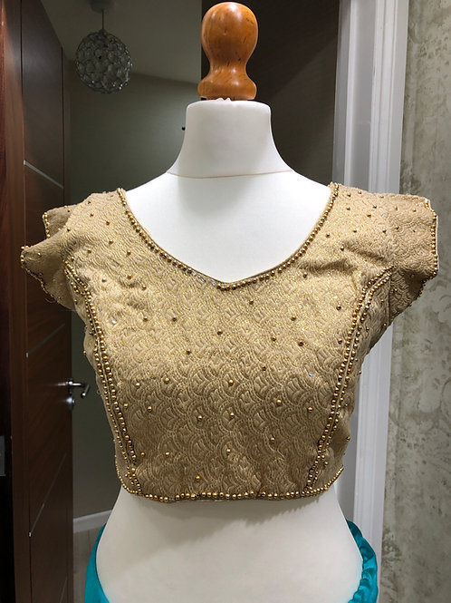 Gold Pearl Blouse
