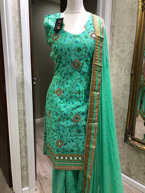 Chandini (Sea Green)