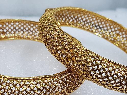 Hand Crafted Gold Bracelet