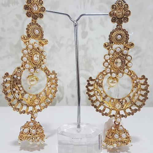 Designer Gold Plated Earrings 0110
