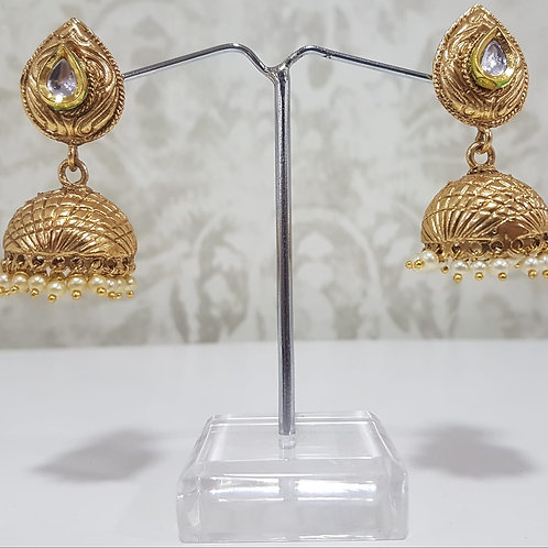 Gold Plated Earrings 0102