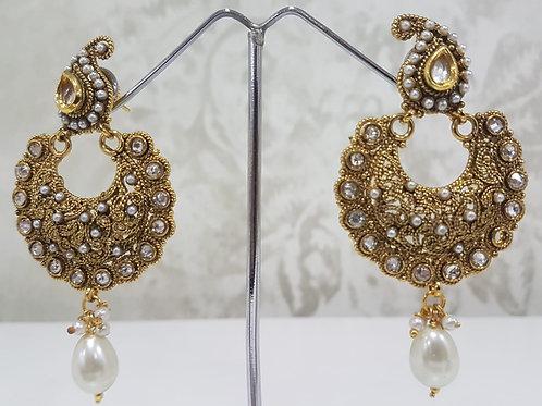 Designer Gold Plated Earrings 0109