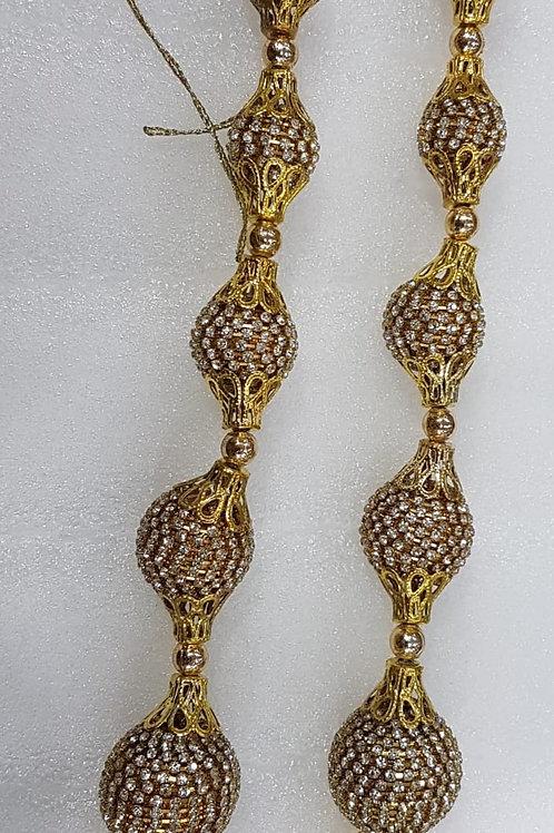 XL Gold Dimontee Latkans