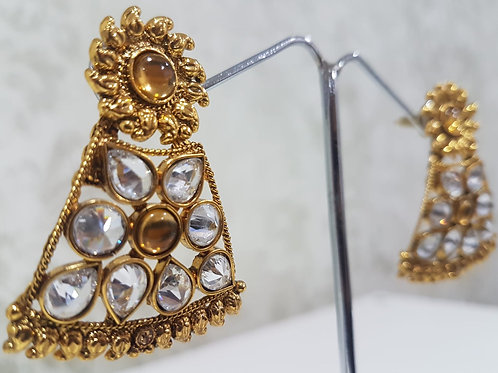 Gold Plated Earrings 0074