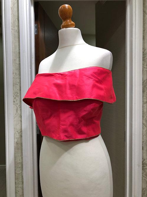 Pink Bardot Blouse