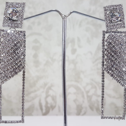 Silver Dimontee Earrings 0067