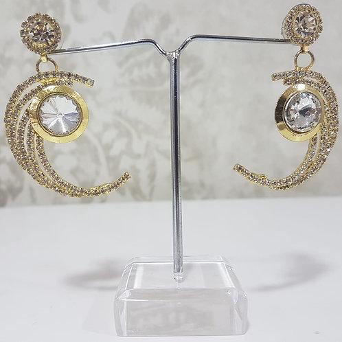 Gold & Silver Earrings 009