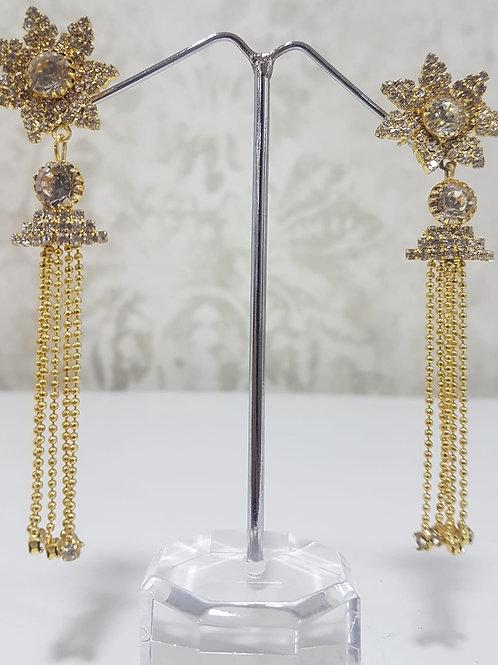 Long Gold Earrings 0029