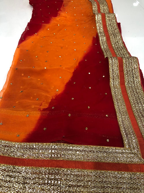 Burnt Orange Duppata