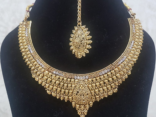 Gold Plated Necklace Set 0022