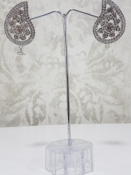Silver Earrings 0090
