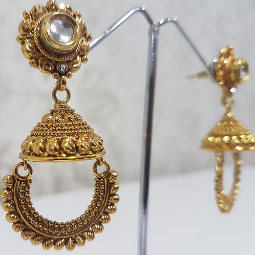 Gold Plated Earrings 0092
