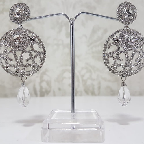 Silver Dimontee Earrings 0071