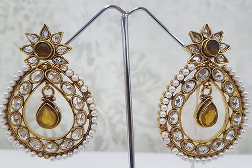 Designer Gold Plated Earrings 0112