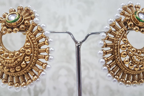 Gold Plated Earrings 0078