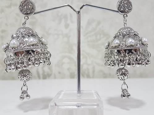 Silver Dimontee Earrings 0069