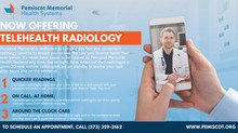 Pemiscot Memorial Now Offering Telehealth Radiology Services
