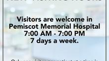 New Visiting Hours Announced at Pemiscot Memorial