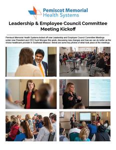 Leadership & Employee Council Kickoff