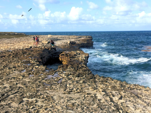 Our trip to Antigua: Exploring Devil's Bridge