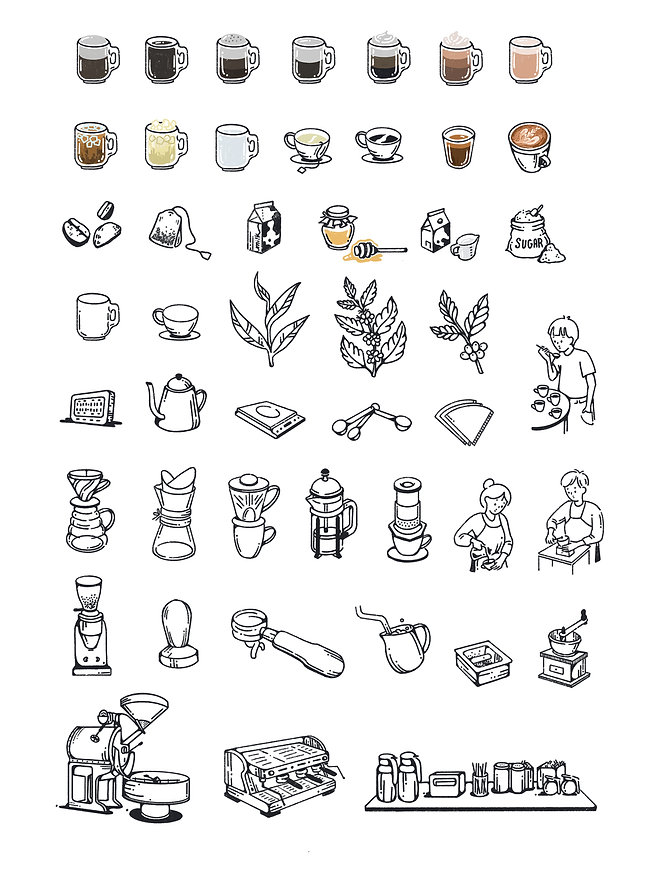 Coffee Illustration _ 1951Coffee _ Revis
