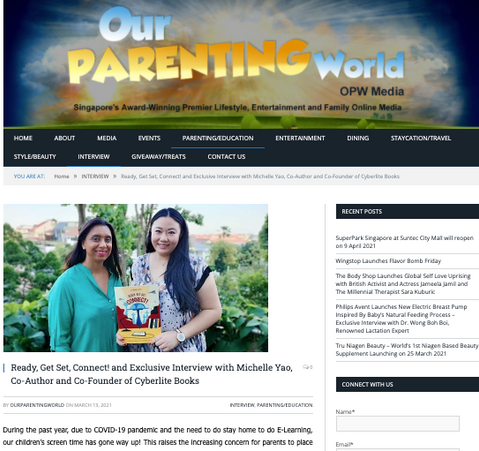 Interview with Our Parenting World
