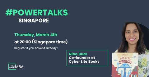 #PowerTalks with Power MBA Singapore