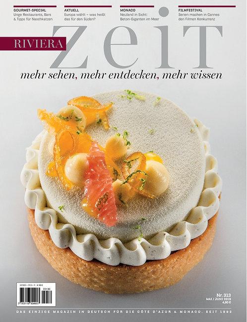Paper Magazine RivieraZeit #313 - May/June 2019